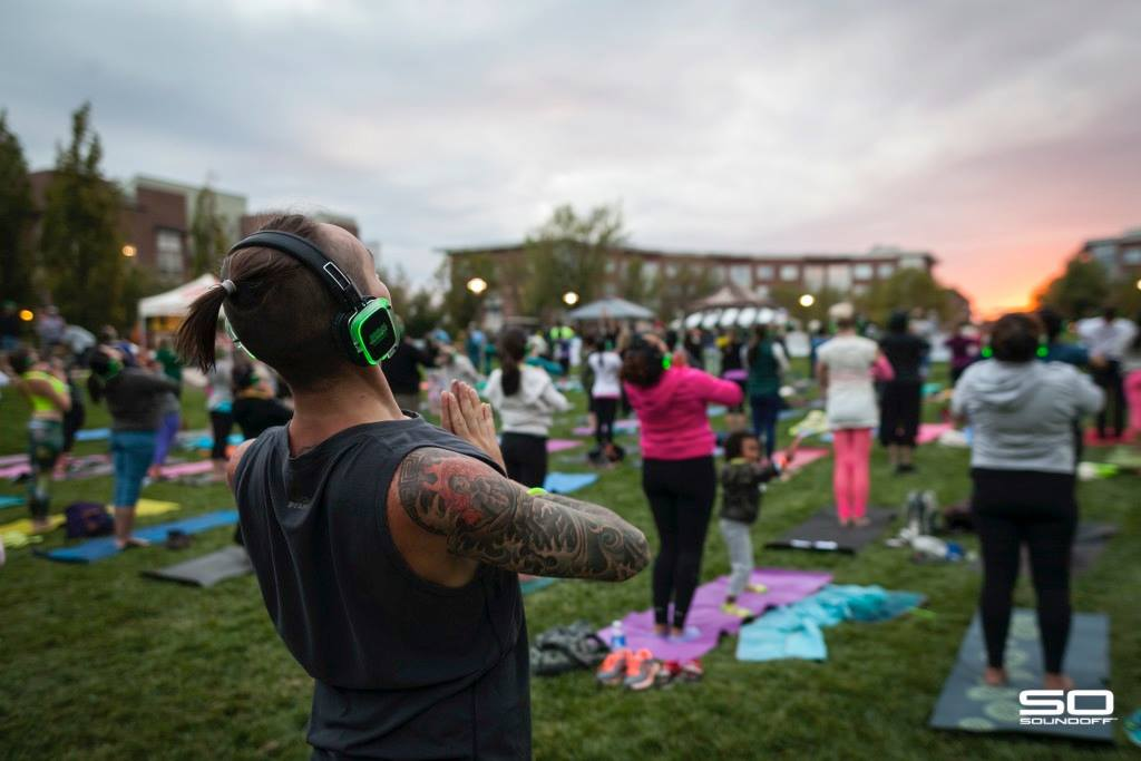 Sound Off + Meraki Yoga at the Farm